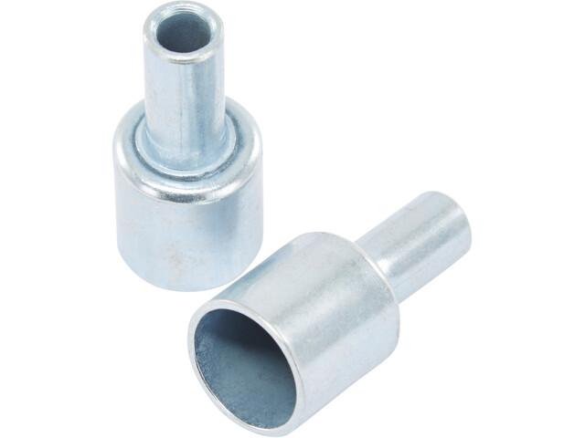 CAMPZ Endkappen für Glasfaserstäbe 13mm 2er Set silber
